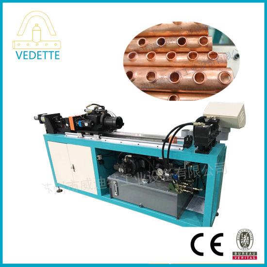 Hydraulic Copper Tube Collar Hole Punching Machine for Flange Hole Punching