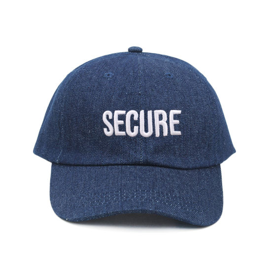 Foldable Blank Embroidery Denim Unstructured Cap Dad Hat Distressed 1bb730cf1e9