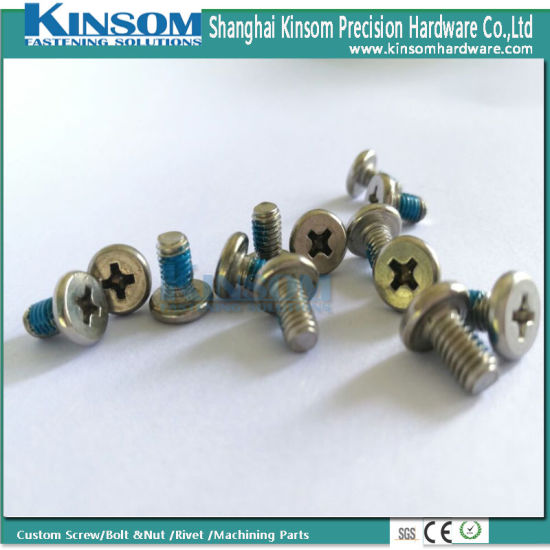 China Machine Screw with Cheese Cross Phillips Head A2-70