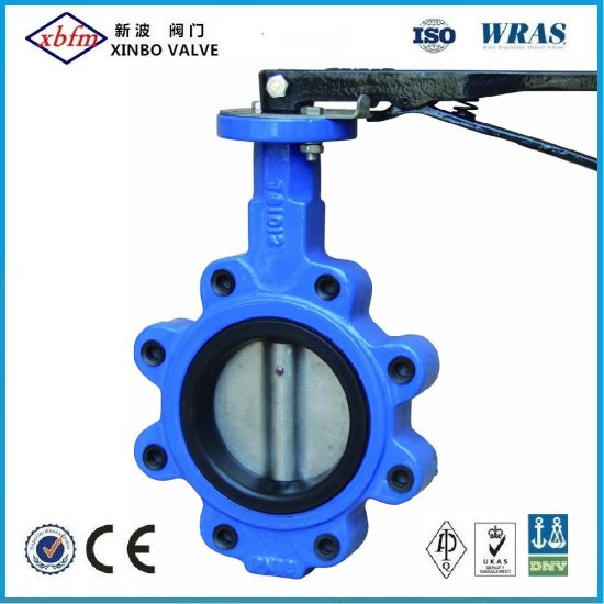 Cast Iron Ductile Iron Lug Type Butterfly Valve pictures & photos