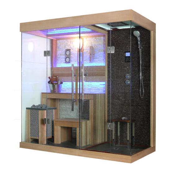 Red Cedar Luxury Steam Shower Sauna