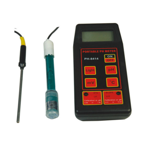 Portable pH Sensor Can Test pH/Temp/Orp for Laboratory pH-8414