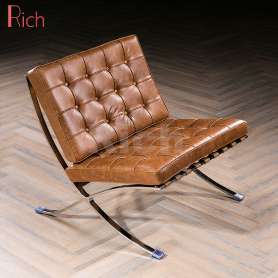 Metal Leisure Leather Lounge Recliner