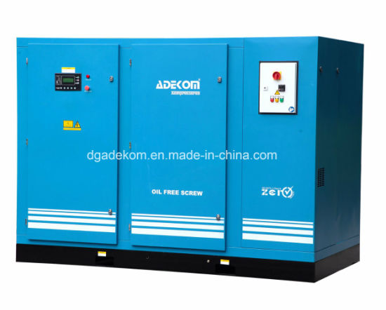 Dry Screw Two Stage Industrial Oil Less Air Compressor
