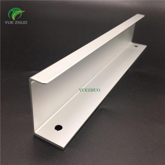 china home hardware aluminum edge pulls finger handles for cabinet