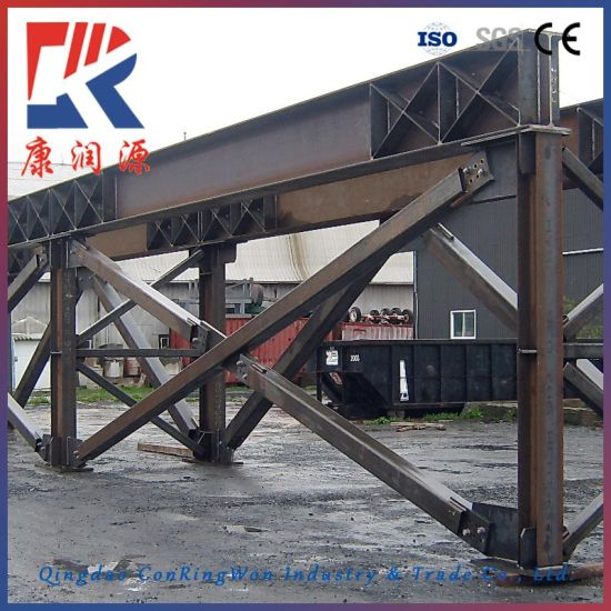 High Quality Steel Frame Structure Welding Parts, Can Be Customized