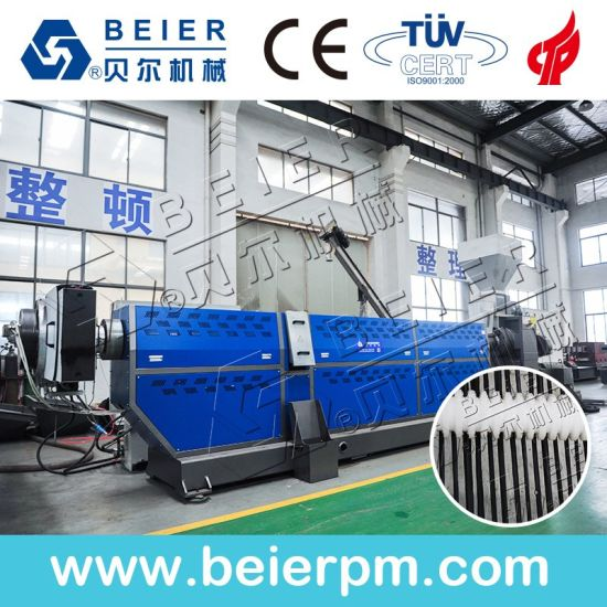 Waste PP PE Plastic Recycling Granulator Machine Pelletizing Production Line