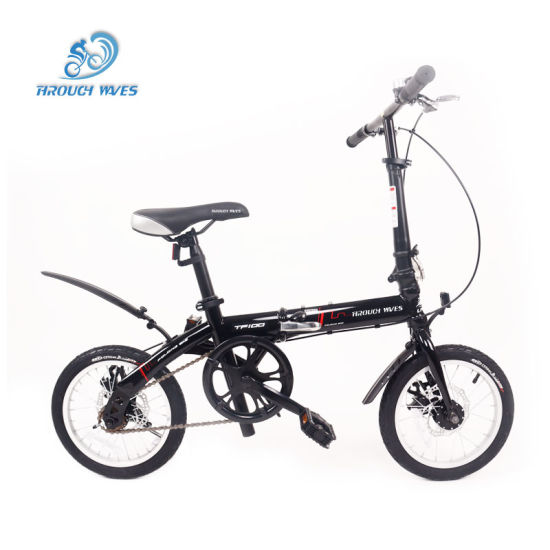 """14/20 """" Folding Bicycle with Variable Speed Adult Gift Car Folding Bicycle"""