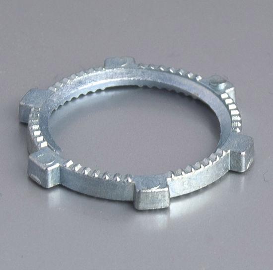 Zinc Rigid Locknut Pipe Fitting