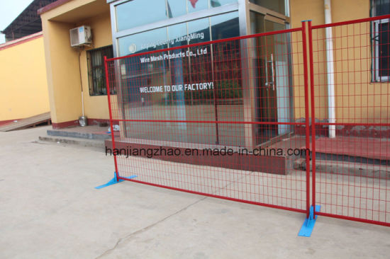 Powder Coated Temporary Fence for Canada