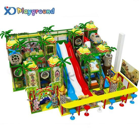 Entertainment Park Indoor Playground Equipment Children Soft Play Structure