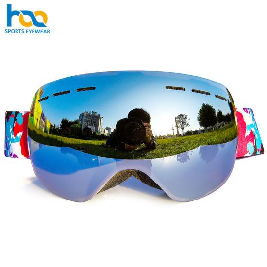 ff4cfca90099 China Custom Be Nice Big Size Anti-Fog Snowboard Ski Goggles - China ...