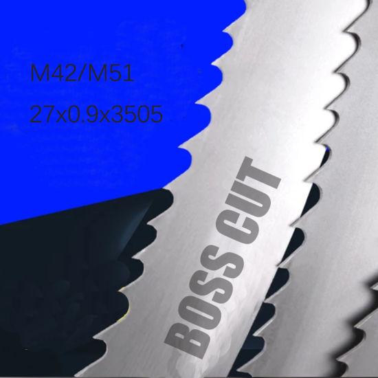 <Boss Cut> Brand 27X0.9X3505 M42 M51 Band Saw Blade for Cut Steel