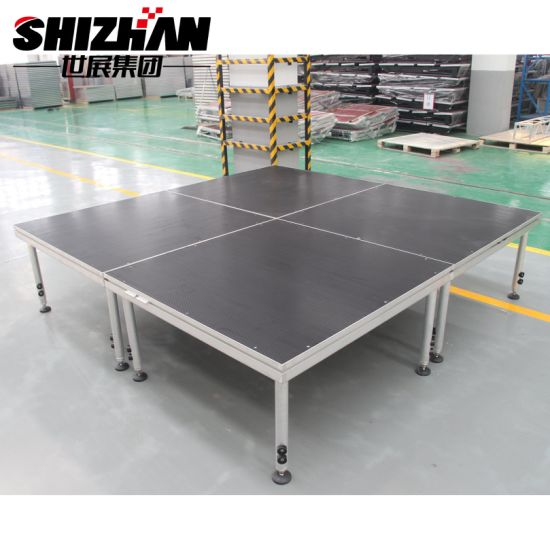 Adjustable Height Modular Aluminum Removable Stage