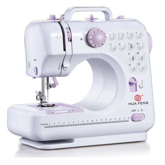 Mini Manual Portable Zigzag Lockstitch Household Sewing Machine (FHSM-505)