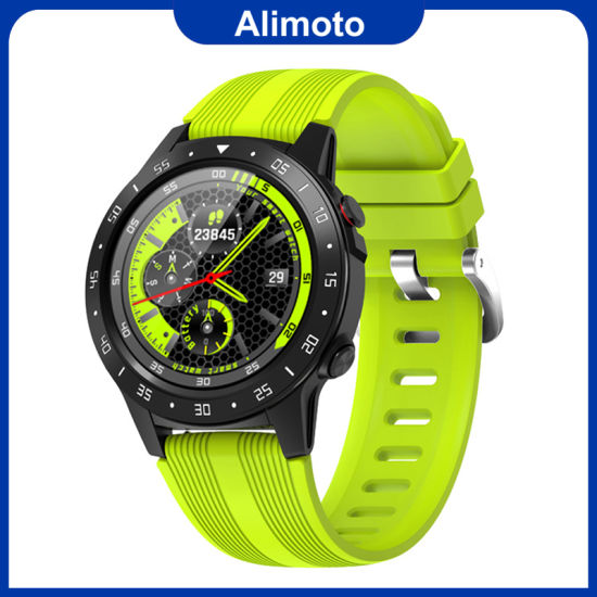 Waterproof Sport Smartwatch Heart Rate Monitor with GPS Remote Camera