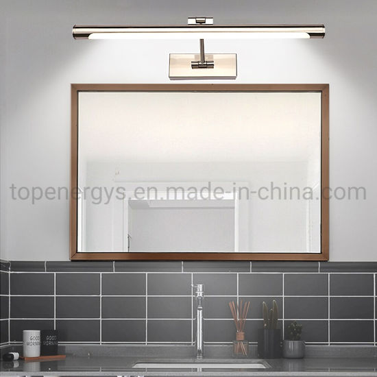 Led 220v 110v Makeup Mirror Light Bulb Bed Room Bathroom Lights Wall Lamp 42cm 55cm Tube Dressing Mirror Lamps
