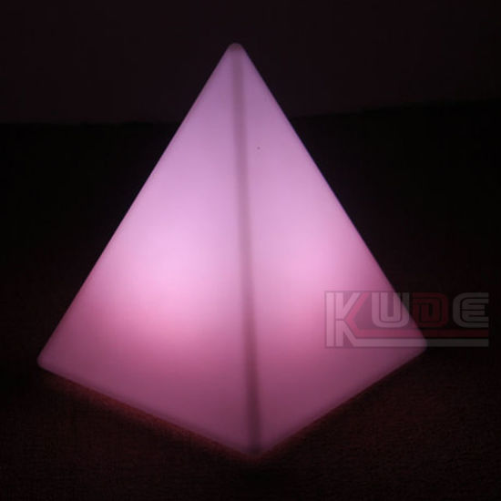 Pyramid Lamp Color Change Rechargeable Pyramid Lamp Gift