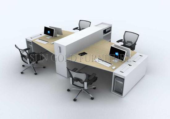Wooden Office Table Long Design Sz Od132