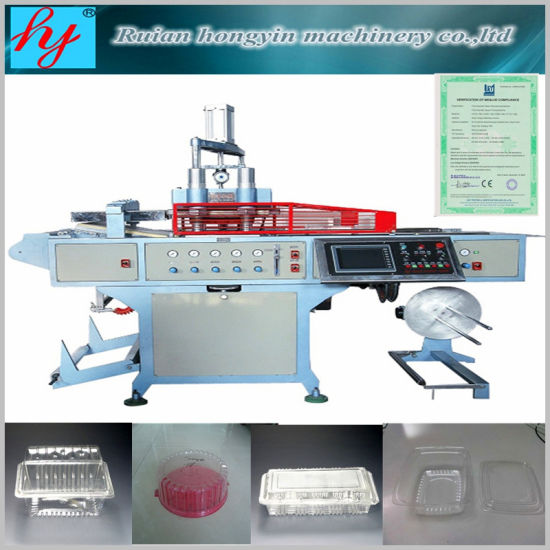 Automatic Plastic Thermoforming Machinery for Produce Tray pictures & photos