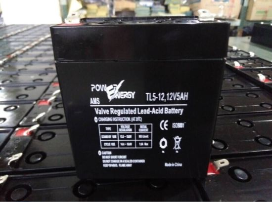 12V 5ah PE5 VRLA Sealed Lead Acid Maintenance Free UPS Battery pictures & photos