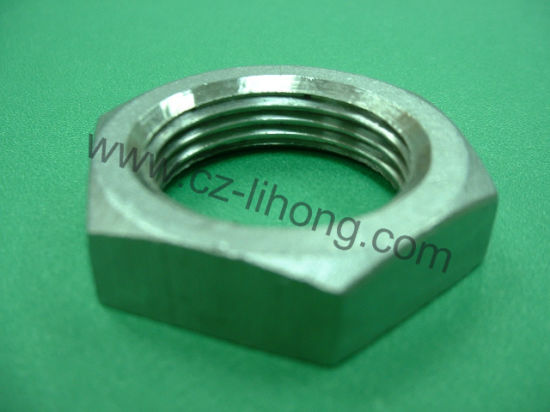 "1-1/2"" Stainless Steel 316 DIN2999 Hex Nut pictures & photos"