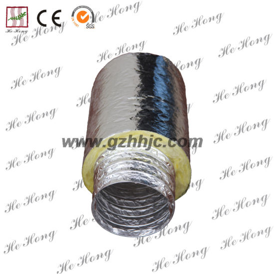 China 2-20 Inch HVAC Insulated Flexible Duct  - China