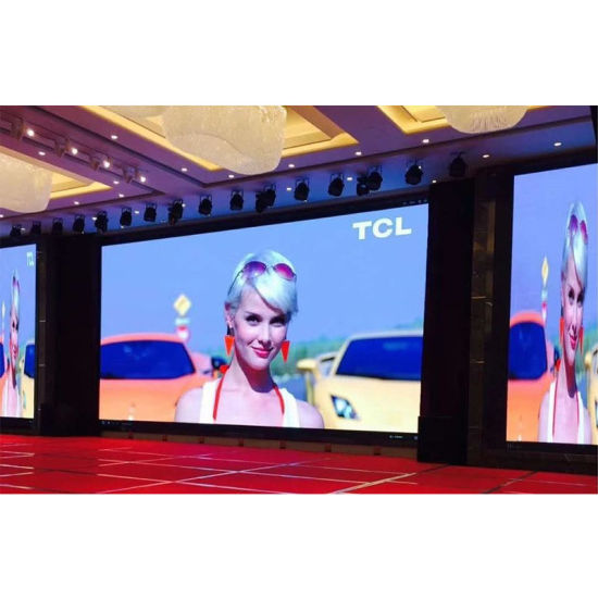 High Resolution P3 Indoor LED Display Panel 576X576mm for Stage Hotel Events / Fixed