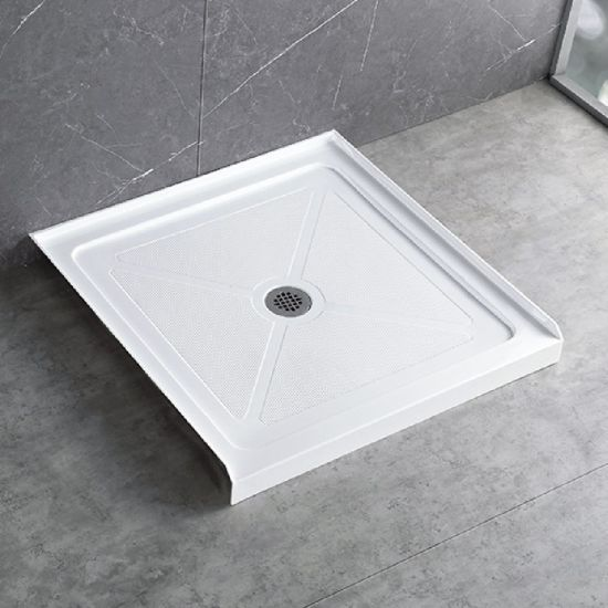 Bathroom Decor Accessories Shower Trays and Enclosures Acrylic Shower Panel Shower Base 32*32 in