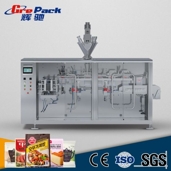 Automatic Horizontal Packaging Machine for Pre-Made Bags