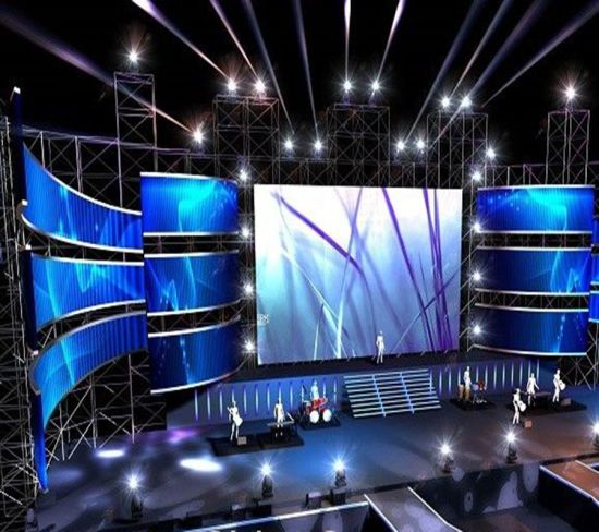 High Refresh Rate 2 Years Warranty Indoor LED Video Wall, Rental LED  Display Screen