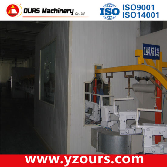Powder Coating Production Line for Textile Industry pictures & photos