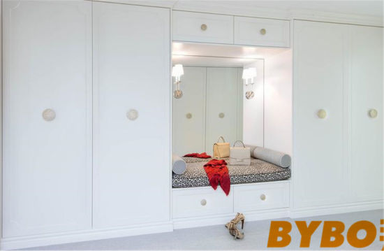 Built In Closet Bench With Floor Tc Ceiling Wardrobe Cabinets (BY W 60)