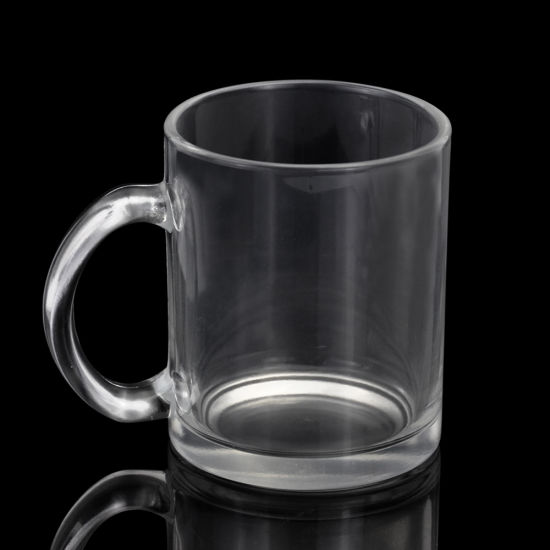 11oz Sublimation Blanks Glass Beer Mugs for Heat Transfer pictures & photos
