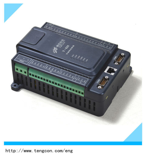 Digital Input/Output PLC Controller Tengcon T-920 with RS485/232 and RJ45