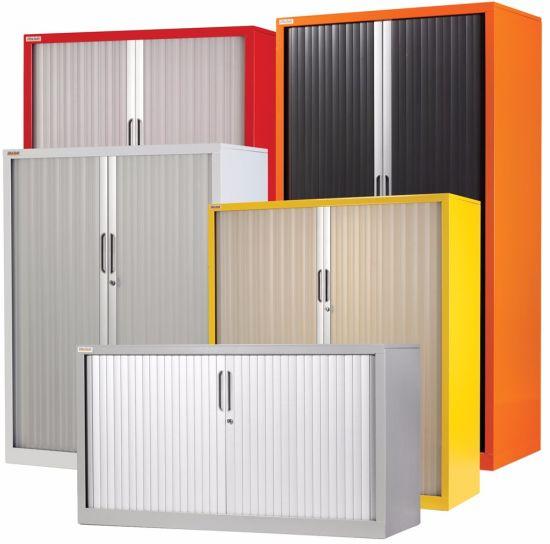 1020 1200 460 Mm Office Use Roller Shutter Door Storage Cabinet
