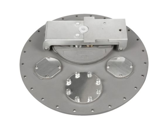 API 20′′ Aluminum Alloy with Locked Tanker Manhole Cover C801A-560/580 pictures & photos