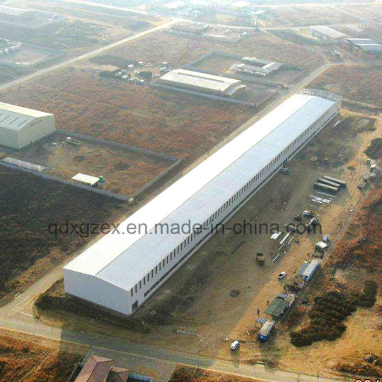 Prefab Storage/Steel Structure Large-Span Prefab Warehouse (JW-16246)