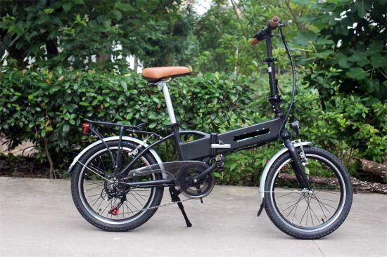 250W Brushless Motor Foldable Ebike/Electric Bike/E-Bike pictures & photos