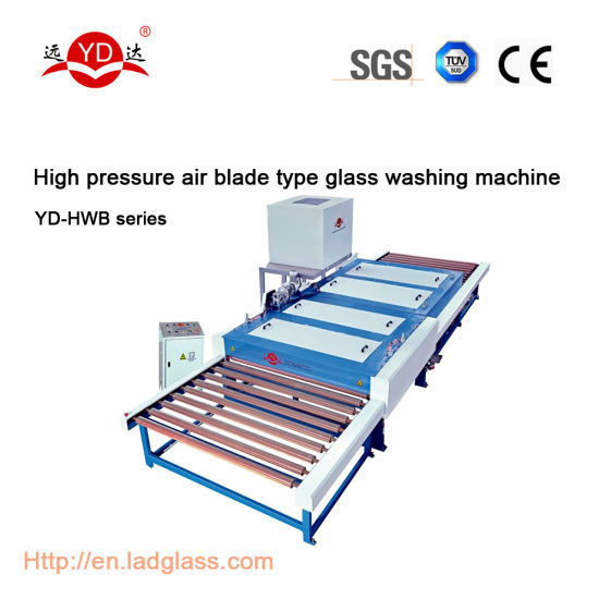 Temper/Laminating/Print Glass Washing and Cleaning Machine