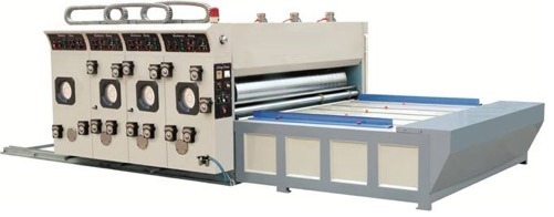 Semi-Automatic Flexo Printing & Slotting Machine (For big size)