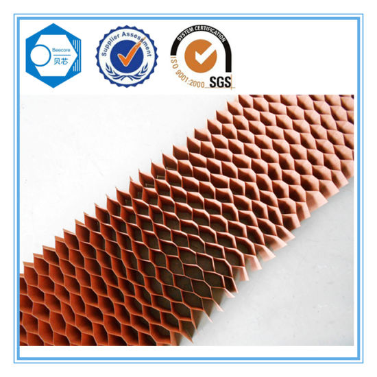 Paper Honeycomb Core Used for The Partition pictures & photos