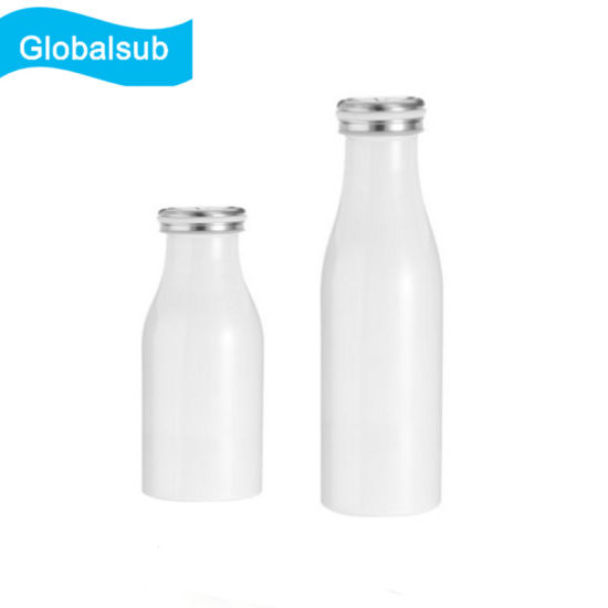 Sublimation White Milk Insulation Cup Blank Tumbler