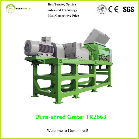 Dura-Shred Automatic Tire Plastic Shredder (TSD1663) pictures & photos
