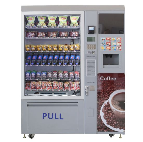 Automatic Commercial Vending Machine with Instant Coffee Dispenser (LV-X01)