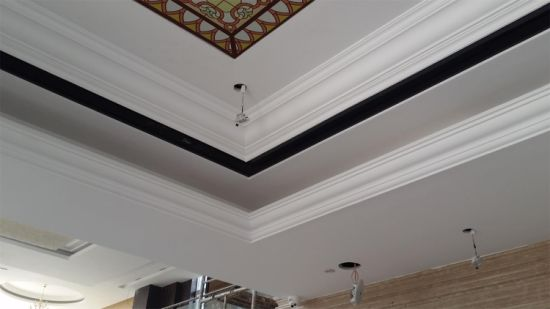 Magnificent Decorative Gypsum / Plaster Cornice Design pictures & photos