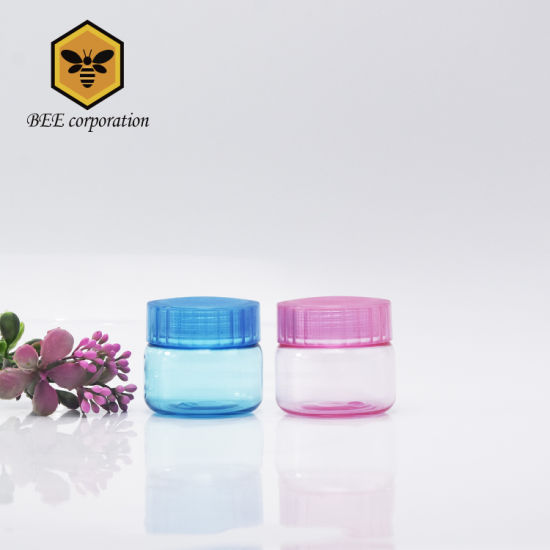 Blue and Print Color Cream Jar, Mask Jar for Skincare (BNF-50)