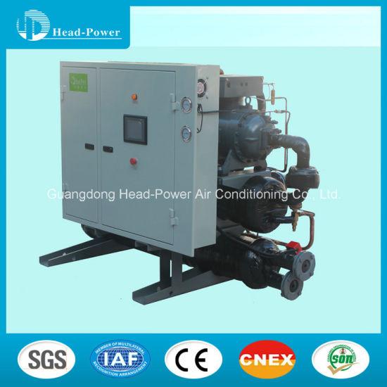 Water, Ground-Source Heat Pump Screw Type Chiller