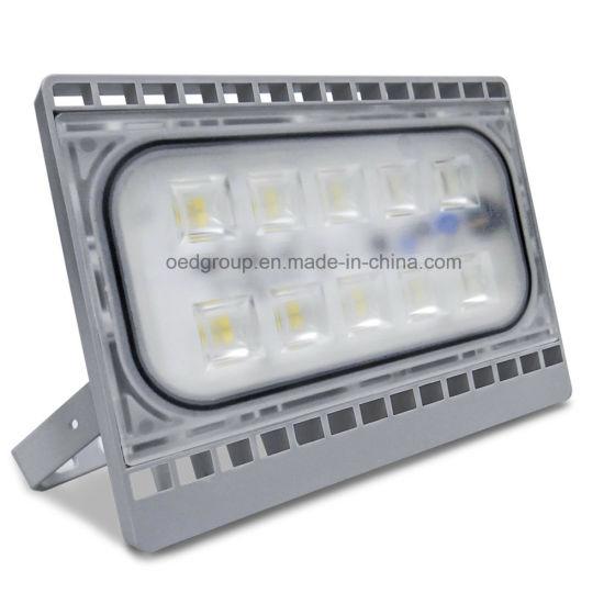 50 Watt Modern Type Ultra Slim Mini LED Flood Light with IP65 SMD2835 for Outdoor Usage