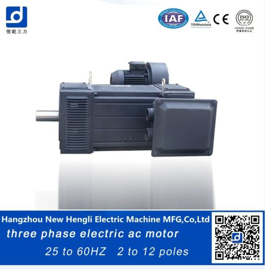 Frequency Variable 380V 60Hz 80kw AC Electrical Motor